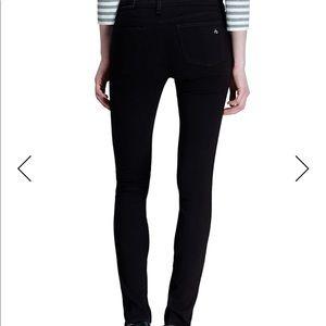 Black rag and bone legging jean
